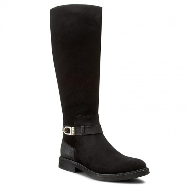 Knee High Boots TOMMY HILFIGER Holly 11C FW56821507 Black 990