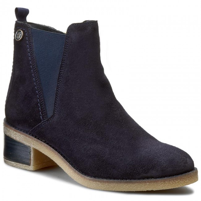 Boots TOMMY HILFIGER Florence 3B FW56821484 Midnight 403