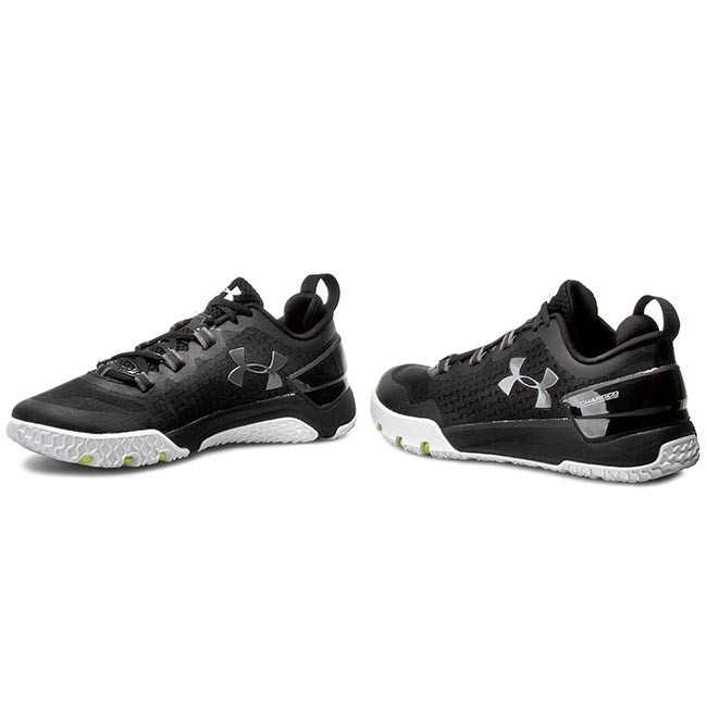 Under Armour Charged Ultimate Low Mens Black Training Sports 1275331 001
