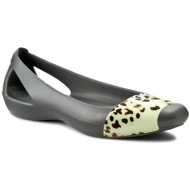 Flats CROCS - Sienna Leopard Fade Flat