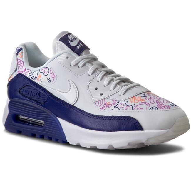 Shoes NIKE W Air Max 90 Ultra Print 833339 100 WhiteWhite