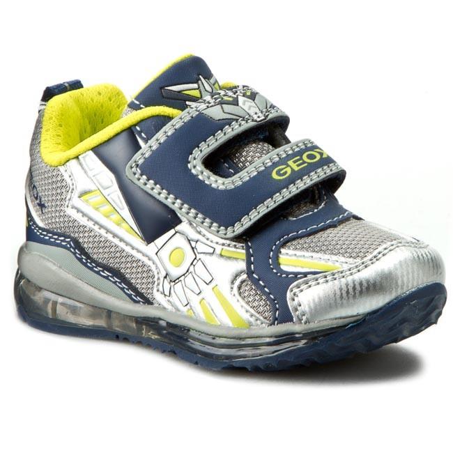 Shoes GEOX - B Todo B. A B6284A 011BC C0665 Szary/Morski