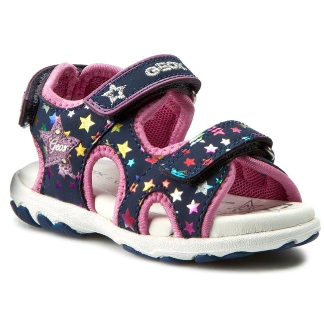 Sandals GEOX - B Sand Cuore A B6290A 05415 C4243 Morski/Kolorowy