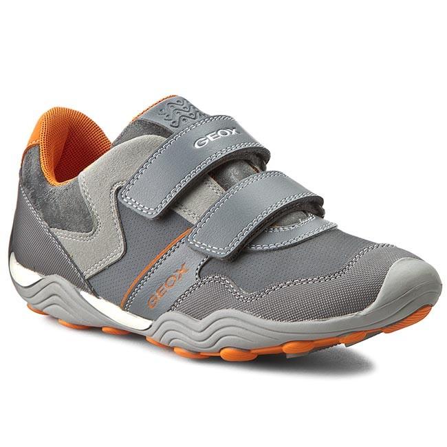 Shoes GEOX - J Arno A J62F0A 050AU C0036 D Szary/Pomarańcz