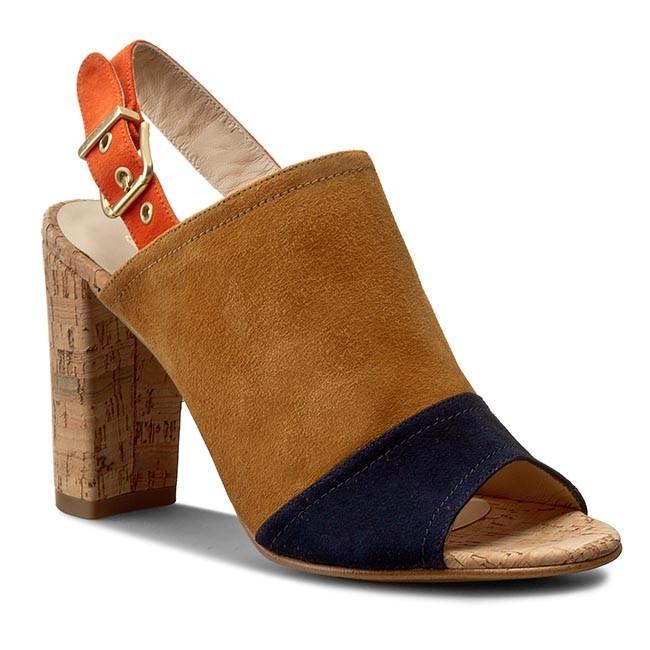 Sandals GANT - Harper 12503250 Navy Blue/Cognac G17