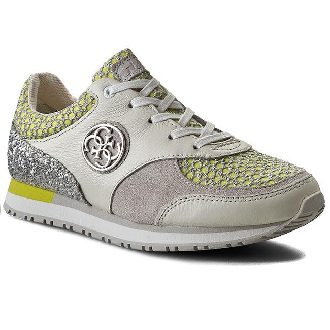 Sneakers GUESS - Reeta FLREE1 FAB12 WHIYE