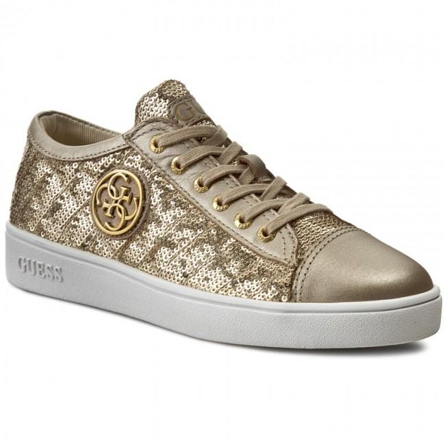 Sneakers GUESS - Ghelda FLGHE1 SAT12 LGOLD