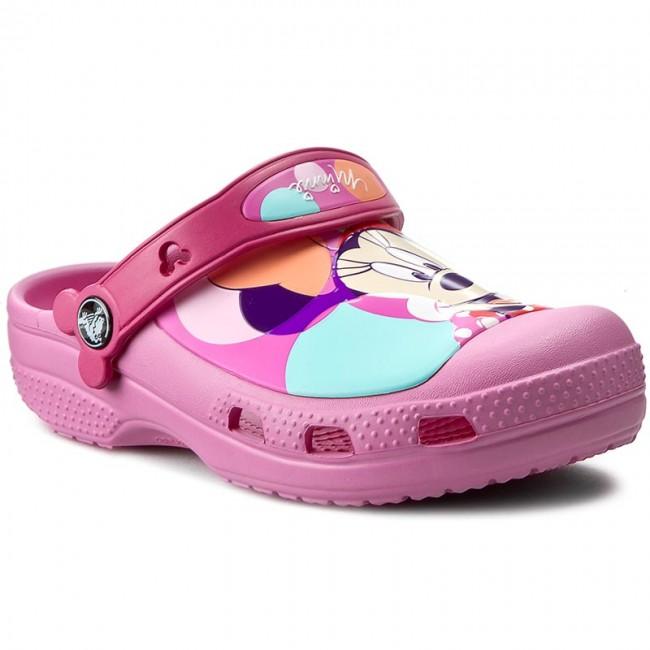 Slides CROCS - Cc Minnie Colorblock Clog K 202693 Party Pink