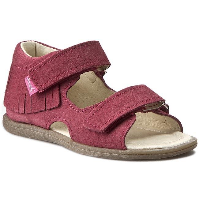 Sandals MRUGAŁA - 1245-44 Malina