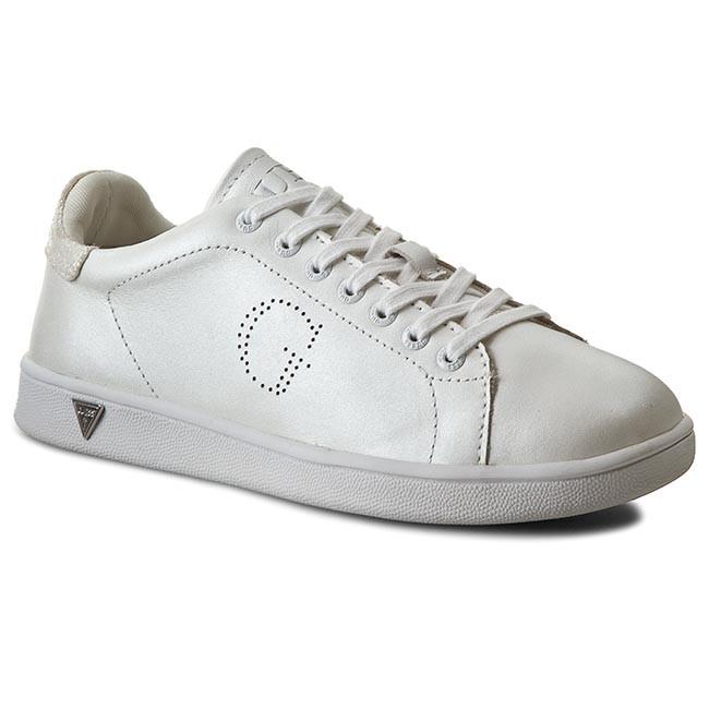 Sneakers GUESS - Super2 FLSUP1 LEM12 WHITE