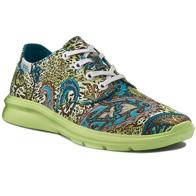Sneakers VANS - Iso 2+ VN0004O1IG2 BlBrd/Gn (Leopard/Paisley)