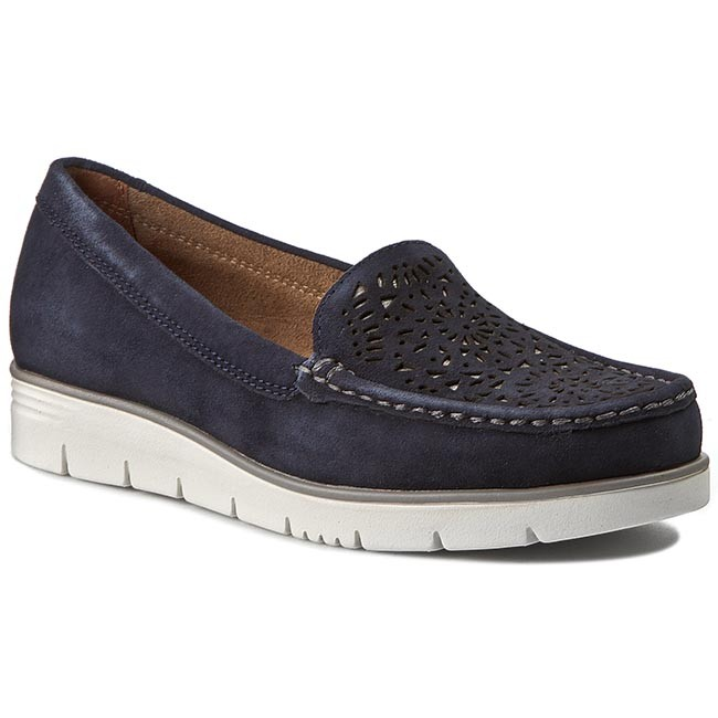Shoes JANA - 8-24625-26 Navy Suede 806