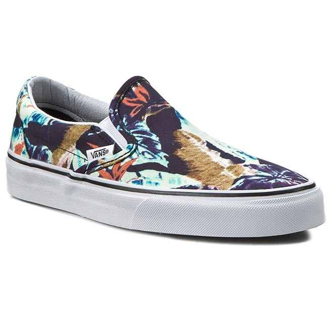 Plimsolls VANS - Classic Slip-On VN0003Z4IWM Multi/Black (Tropical)