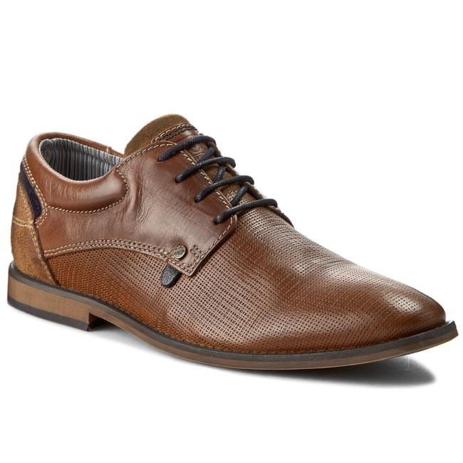 Shoes S.OLIVER - 5-13200-36 Cognac/Navy 380