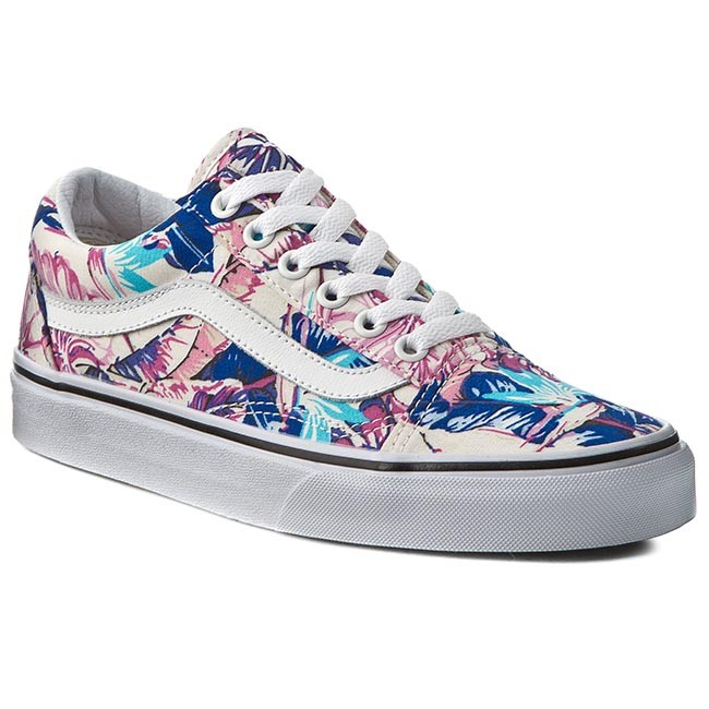 Plimsolls VANS - Old Skool VN0003Z6IKP (Tropical) Multi/ True Wht
