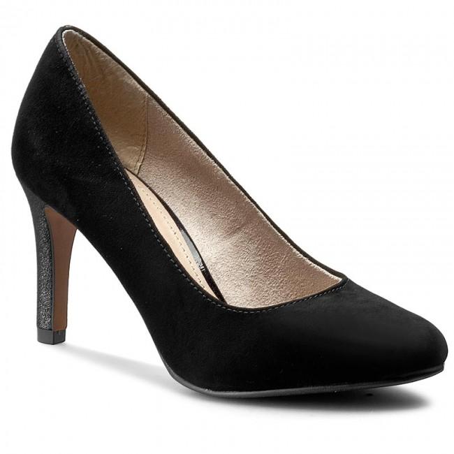 Stilettos S.OLIVER - 5-22413-26 Black Suede 004