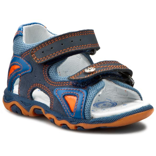 Sandals BARTEK - 81455-156 Niebieski