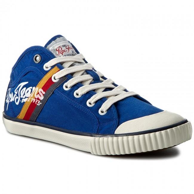 Sneakers PEPE JEANS - Industry Teen PMS30228 Prussian 578