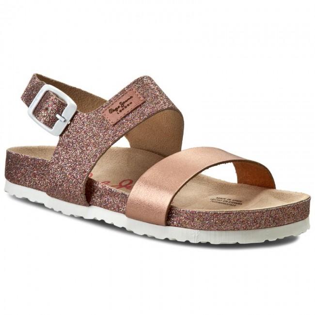 Sandals PEPE JEANS - Bio Glitter PGS90061 Pale 321