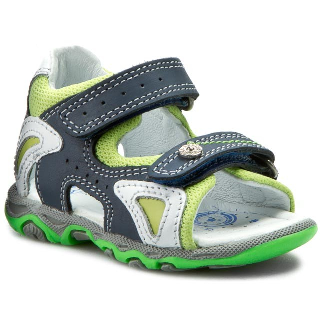 Sandals BARTEK - 81455-341 Niebiesko Biały