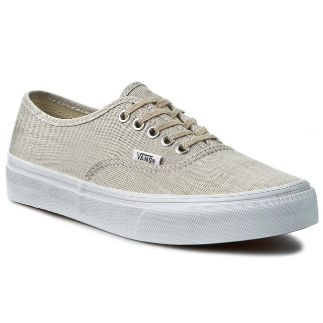 Plimsolls Vans Authentic Slim Vn000xg6iay Gray True Wht
