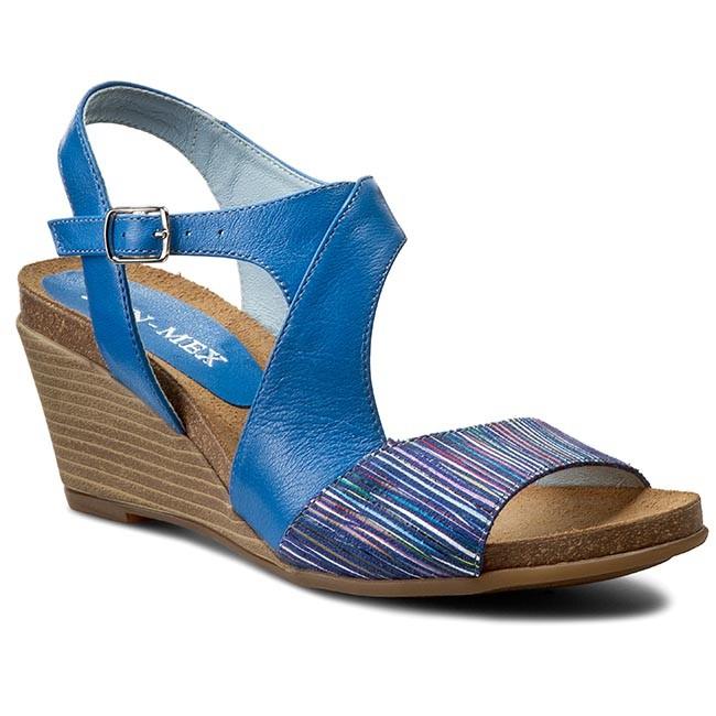 Sandals ANN MEX - 7202 05S+05P Granat