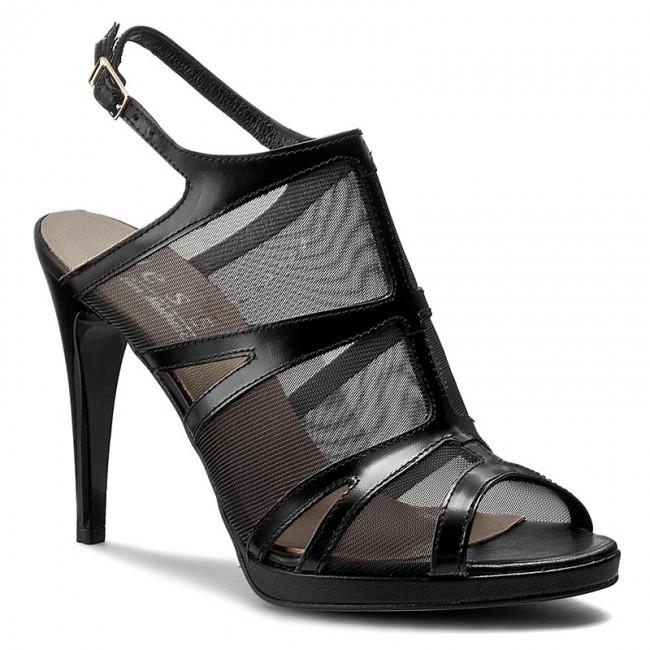 Sandals NESSI - 79106 Czarny Fl/Siatka