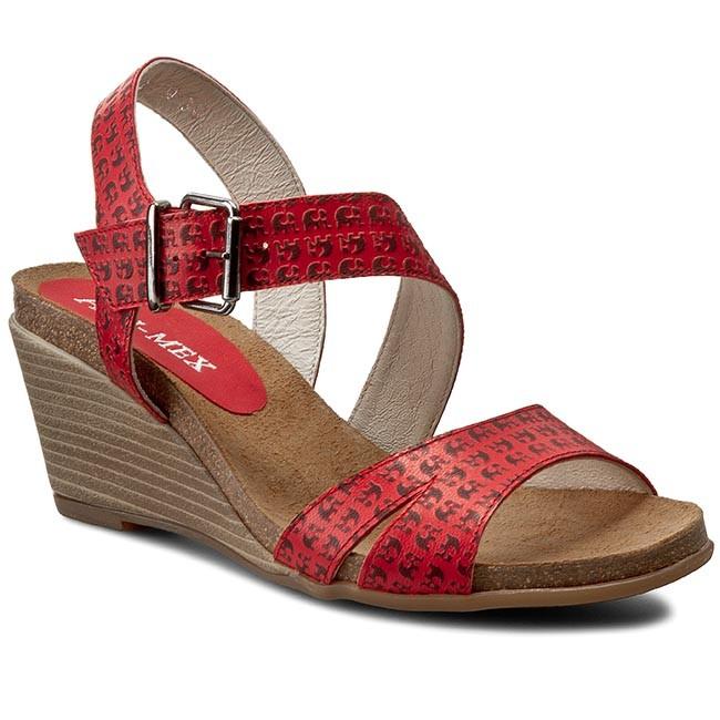 Sandals ANN MEX - 7187 14SN Red