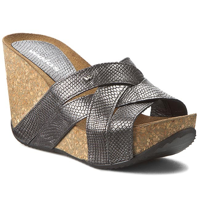 Slides WOJAS - 6750-69 Silver