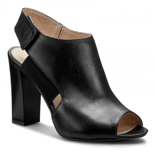 Sandals A.J.F. - 01050 Czarny 012