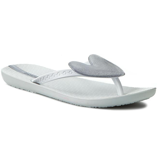 Slides IPANEMA - N Summer Love Fem 80676 White/Silver 20098