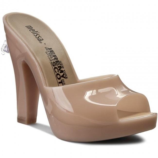 Slides MELISSA - Inflatable Mule + Jere 31777 Brown 01890