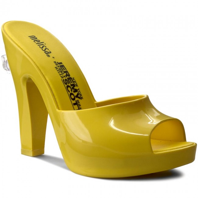 Slides MELISSA - Inflatable Mule + Jere 31777 Neon Yellow 01661
