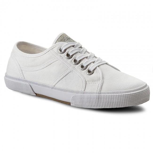 Plimsolls MARCO TOZZI - 2-23606-26 White 100
