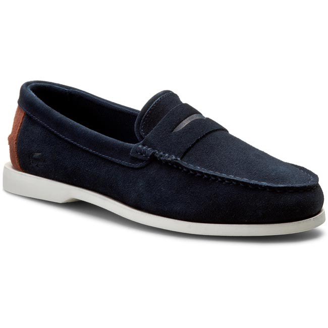 Moccasins LACOSTE - Navire Penny 216 1 Cam 7-31CAM0153003 Navy