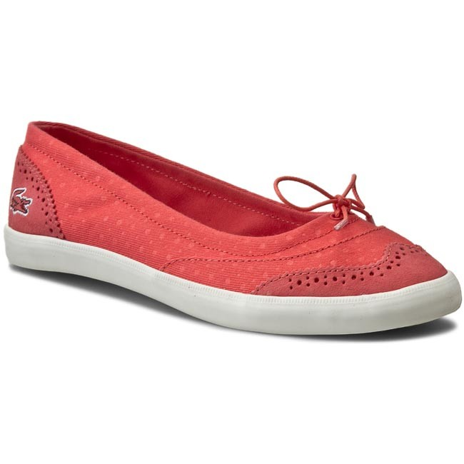 Plimsolls LACOSTE - Loxia 216 1 Caw 7-31CAW0136LR2 Red