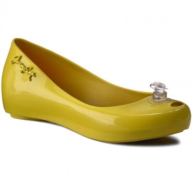 Flats MELISSA - Ultragirl + Jeremy Sco 31823 Neon Yellow 01661