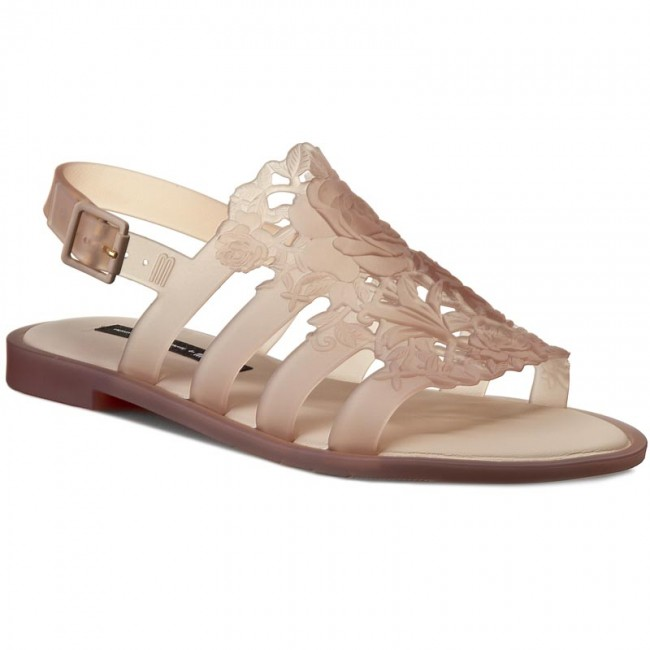 Sandals MELISSA - Boemia Flower + Alexan 31838 Clear Beige 06123