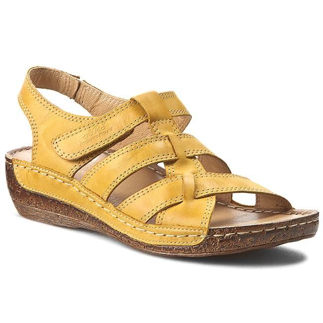 Sandals WALDI - 0853 Yellow