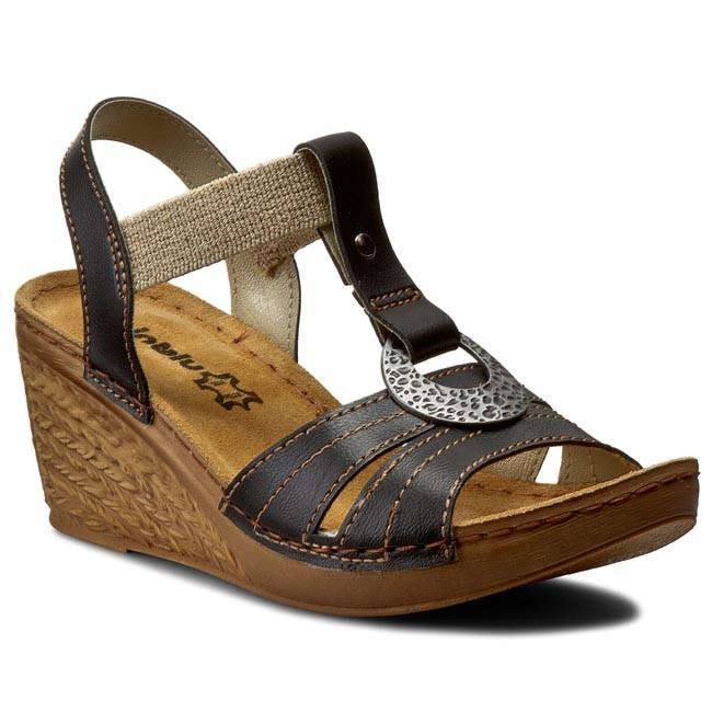 Sandals INBLU - OC02HC11 Black