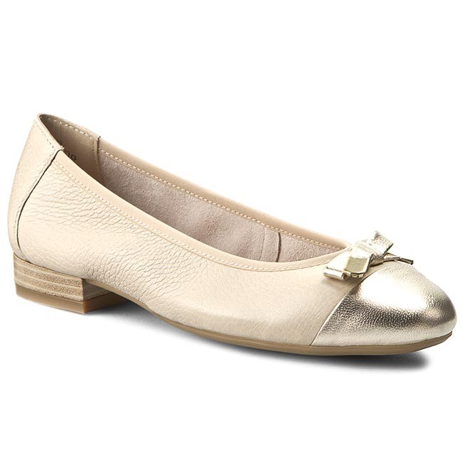 Shoes CAPRICE - 9-22152-26 Beige/Gold Na. 493