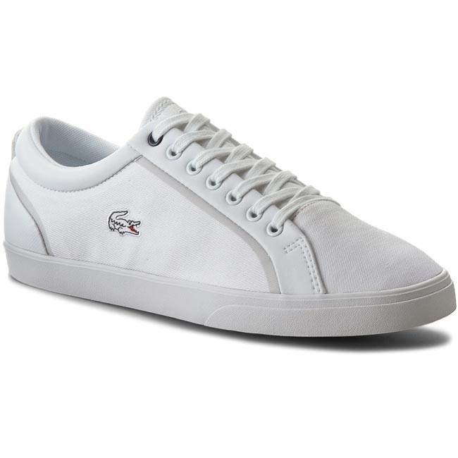 Shoes LACOSTE - Lenglen 216 1 Spm 7-31SPM0113001 Wht Cnv/Syn