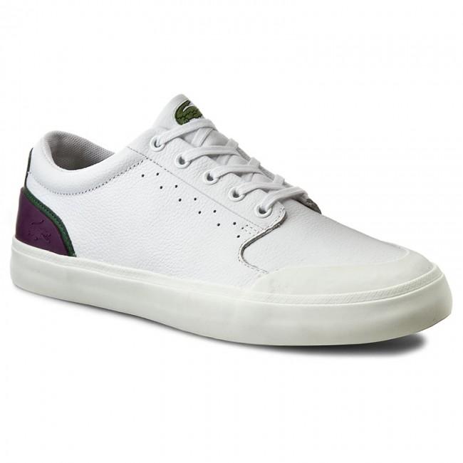 Sneakers LACOSTE - 4HND.15 216 1 Spm 7-31SPM00661R5 Wht/Dk Grn