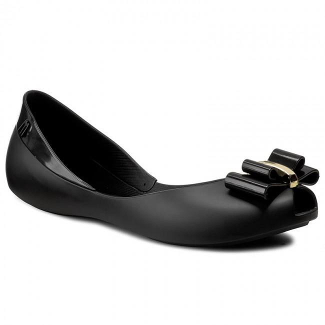 Flats MELISSA - Queen V Ad 31818 Black 01003