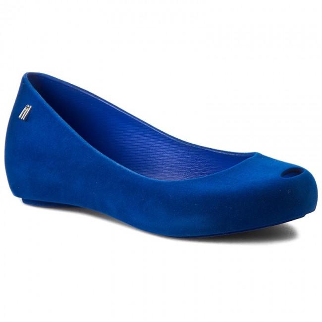 Flats MELISSA - Melissa Ultragirl Flocked Ad 31835 Blue 01365