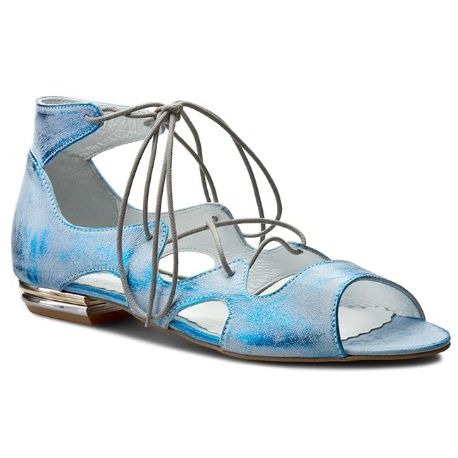 Sandals ROBERTO - 499 Niebieski Przecier