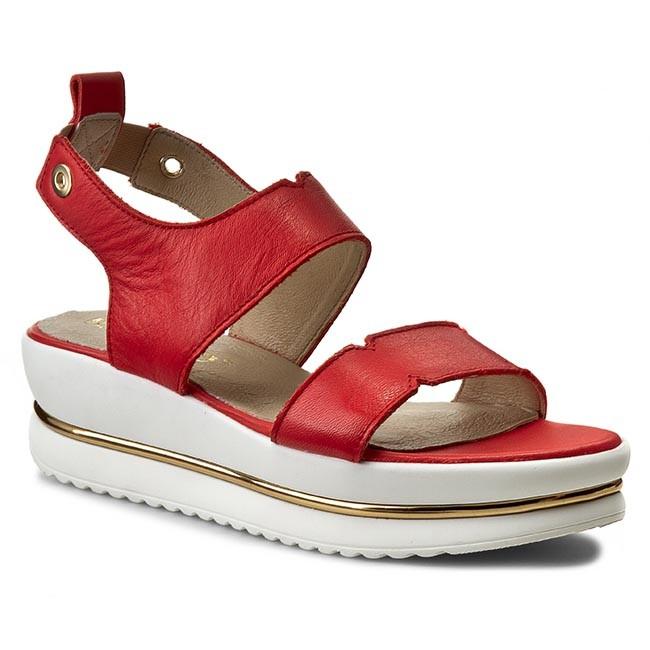 Sandals KARINO - 1857/108-P Red