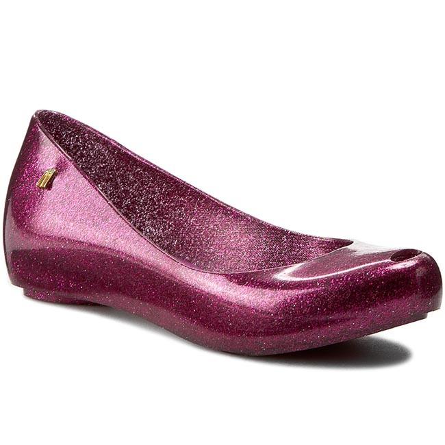 Flats MELISSA - Melissa Ultragirl XII Ad 31868 Pink Glitter 51801