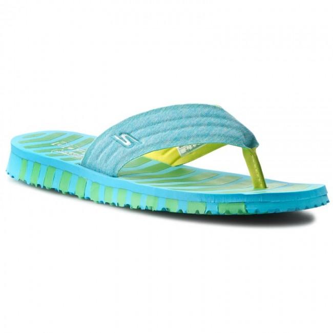 Slides SKECHERS - Go Flex-Vitality 14258 Blue/Green