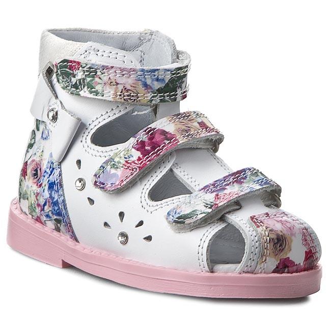 Shoes BARTEK - 81789 Biało Różowy